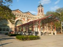 The Ellis Island Museum in New York. The Ellis Island Museum of Immigration in New York Royalty Free Stock Images