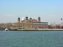 Ellis Island, New York Lizenzfreies Stockfoto