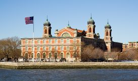 Ellis Island, New York City Stock Image