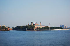 Ellis Island, New York City, New Jersey Royalty Free Stock Images