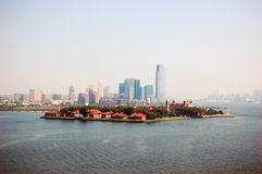 Ellis Island, New York City, New Jersey Royalty Free Stock Image