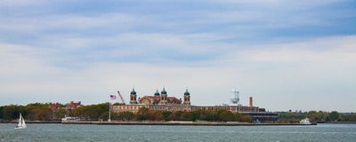 Ellis Island, New York City, NY Stock Image