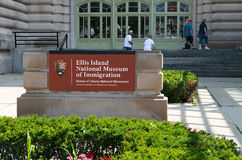 Ellis Island New York Travel Stock Image