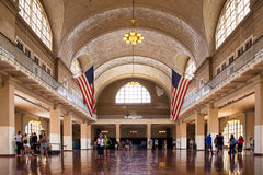 Ellis Island NYC Foto de Stock Royalty Free
