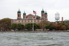 Ellis Island in NYC immagini stock