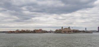 Ellis island. Panorama - New York Stock Photography