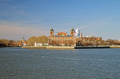 Ellis Island. Royalty Free Stock Photos