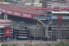 Ellis Park Stadium. Is a rugby union and association football stadium in the city of Johannesburg, Gauteng Province, South Africa Stock Photography