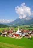 Ellmau en el Tyrol, Austria Fotografía de archivo libre de regalías