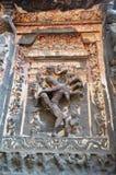 Ellora洞, Aurangabad,马哈拉施特拉 免版税图库摄影