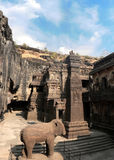 Ellora cave complex, India Royalty Free Stock Image