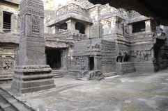Ellora Cave temple India Stock Image