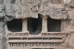 Ellora caves, Ancient Hindu stone carved temple, Cave No 16,India Royalty Free Stock Photography