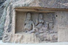 Ellora Caves Indien Royaltyfria Foton
