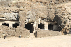 Ellora caves near Aurangabad in India Stock Photo