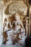 Ellora foudroie la sculpture en roche Images stock