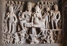 Ellora grottor, Aurangabad Fotografering för Bildbyråer
