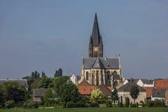 Ellos abadía de la espina del pueblo en Limburgo Imágenes de archivo libres de regalías