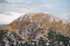 Elm mountain. (2128 m) in the Totes Gebirge mountain range, Alps, Austria Royalty Free Stock Image