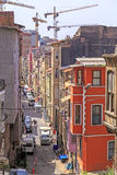 Elmadag-Bezirk von Sisli, Istanbul Lizenzfreies Stockfoto