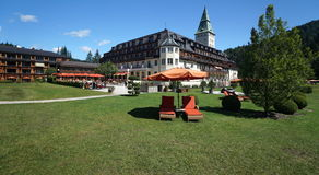 Elmau Palace Hotel Stock Photography
