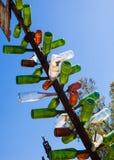 Elmers瓶树大农场加利福尼亚 免版税库存照片