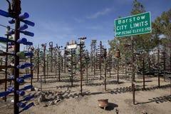 Elmers-Flaschen-Baum-Ranch Kalifornien lizenzfreies stockbild