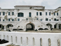 Elmina Castle In Ghana Entrance Royalty Free Stock Photos