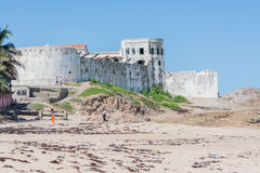 Elmina Castle stock image