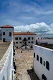 Elmina slott Royaltyfria Bilder