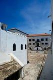 Elmina slott Arkivfoto
