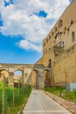 Elmo de ` de Castel Sant à Naples, Italie photo libre de droits
