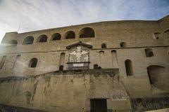 Elmo do ` de Castel Sant em Nápoles, Itália Imagens de Stock Royalty Free