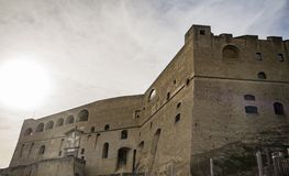 Elmo do ` de Castel Sant em Nápoles, Itália Fotos de Stock Royalty Free