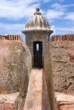 el堡垒morro波多里哥 免版税库存图片