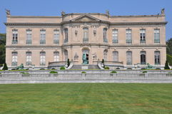 The Elms Mansion in Newport. Rhode Island Stock Image
