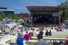 Elmwood Park Amphitheater Stock Images