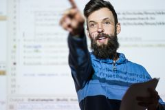 Elocution speech craft orator interact discussion stock photos