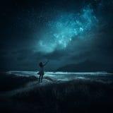 Elogio di notte Fotografia Stock Libera da Diritti