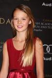 Eloisa mag Huggins kommt zu der BAFTA Preis-Jahreszeit-Tee-Party 2012 Stockbild