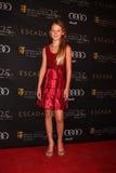 Eloisa mag Huggins kommt zu der BAFTA Preis-Jahreszeit-Tee-Party 2012 Stockfotografie