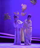 "Elopement in the moonlight-Kunqu Opera ""the West Chamber"" Stock Photos"