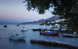 Elounda Royalty Free Stock Photos