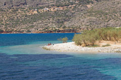 Elounda bay Royalty Free Stock Images