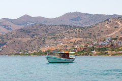 Elounda bay Royalty Free Stock Photography
