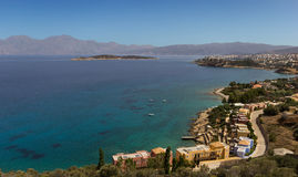 The Elounda bay Royalty Free Stock Photo
