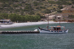 Elounda beach Royalty Free Stock Photography