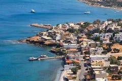 Elounda in Crete royalty free stock photo