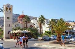 Elounda, Kreta, Griekenland Stock Foto's