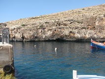 Elphant legs - in the blue grotto Stock Image